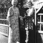 Annie E. Casey (left) and daughter Marguerite Casey (right) are pictured together.