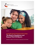 The Need to Reauthorize and Expand Title IV-E Waivers: Ensuring Safe, Nurturing and Permanent Families for Children